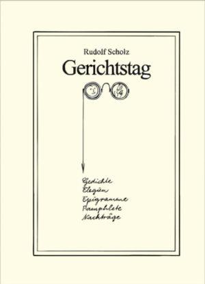 """Rudolf Scholz: """"Gerichtstag"""""""